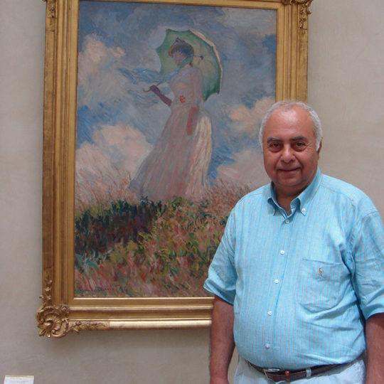 2007 Paris Musee d'Orsay – Şemsiyeli Kız Tablosu ile
