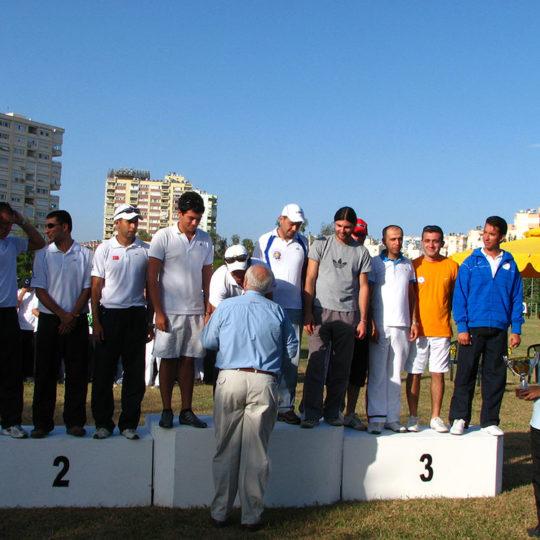 2008 Okçuluk Türkiye Birinciliği madalya töreni
