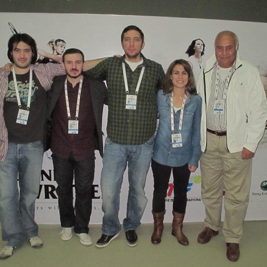 2011 İstanbul – Sezon sonu turnuvası Eurosport ekibi ile