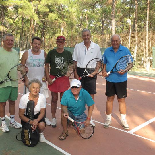Datça Aktur'da tenis