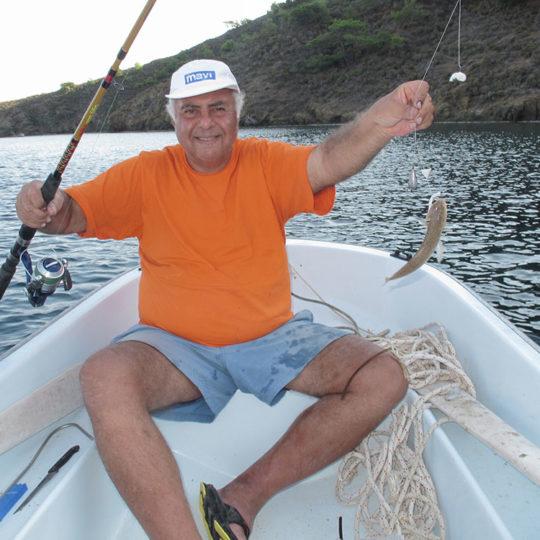 2011 Datça Aktur Kurucabük koyunda sandaldan balık avı