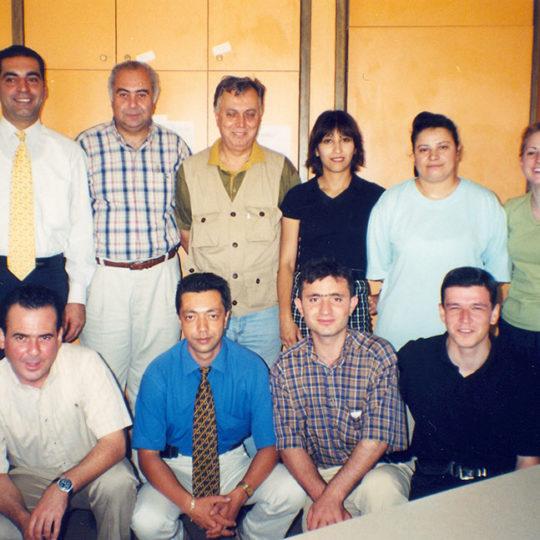 TRT Ankara Spor Haberleri çalışanlarından bir bölümüyle
