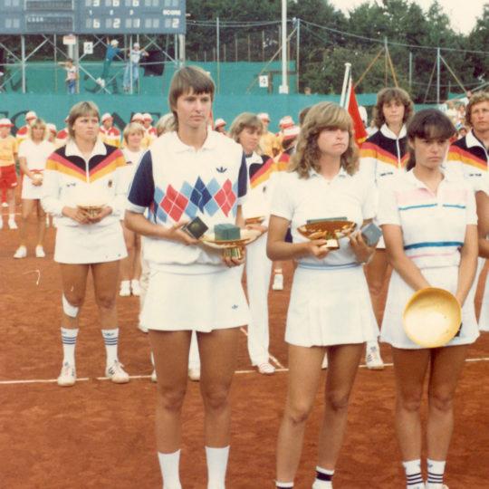 1983 Federasyon Kupası Finalleri – Zürih (SUI) Şampiyon Çekoslovakya Takımı
