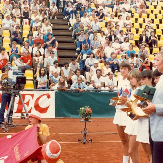 1983 Federasyon Kupası Finalleri – Zürih (SUI) Madalya Seremonisi