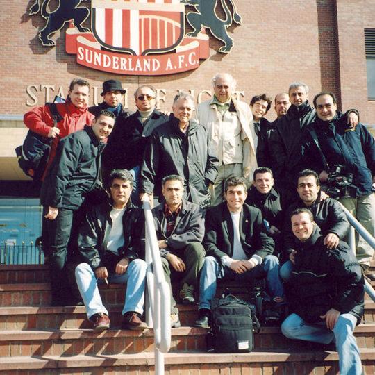 İngiltere-Türkiye maçı TRT ekibi, Sunderland