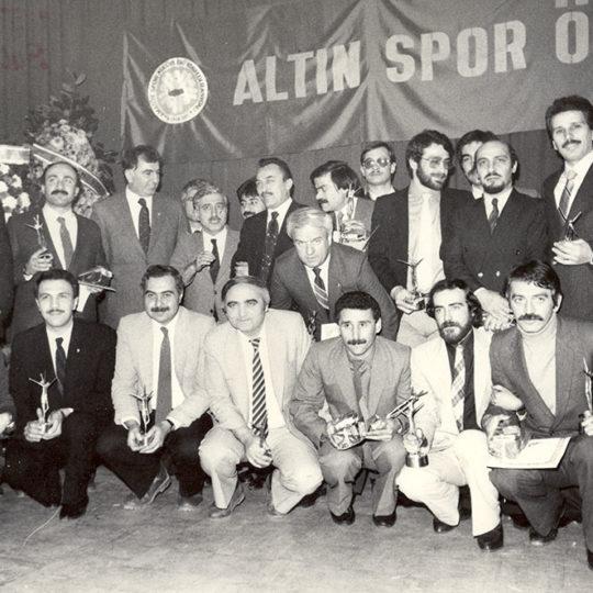 1985 Altın Spor Ödülleri – Ankara, Bulvar Palas