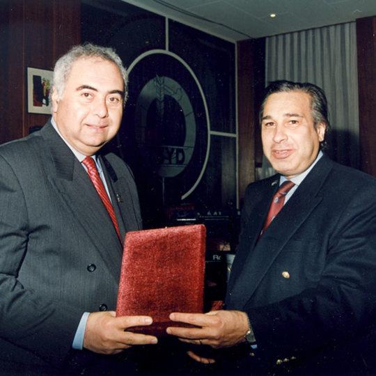 22 Şubat 1997, İstanbul – Yüzme Federasyonu Başkanı Haluk Toygarlı