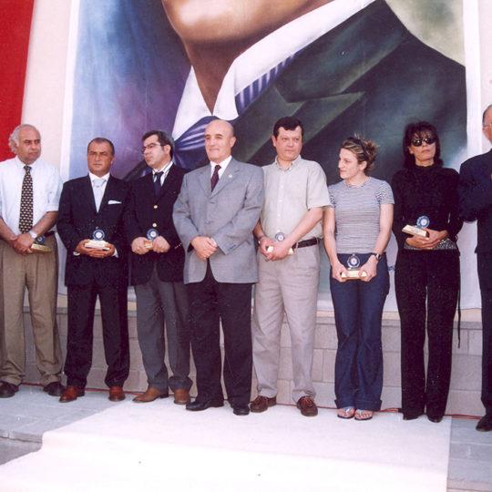 2003 Ankara Üniversitesi Ödül Töreni