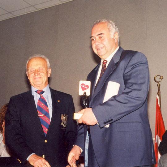 1998, Olimpiyat Evi, İstanbul – Fair Play Ödül Töreni