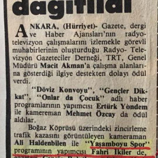 Cengiz Polatkan Ödülleri Dağıtıldı
