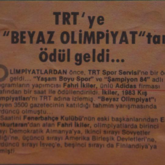 TRT'ye
