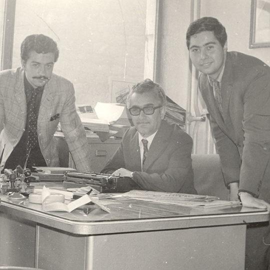 1973 Kayseri Ülker Gazetesi – Mustafa Gümüşkaynak ve Güntaç Aktan ile