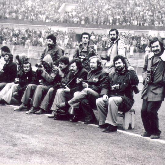1976 İstanbul İnönü Stadı – Kale arkasında gol bekleyişi