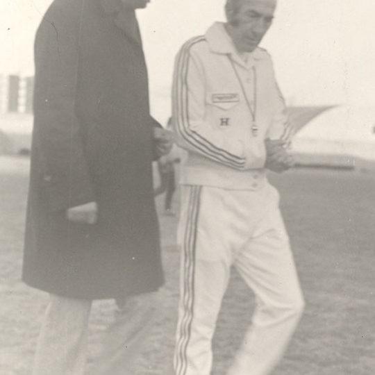 1970'li yılların sonu ünlü futbol adamı Gündüz Kılıç ile