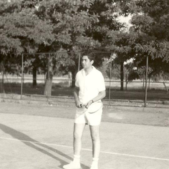 1970 Kayseri Bez Fabrikasında tenis