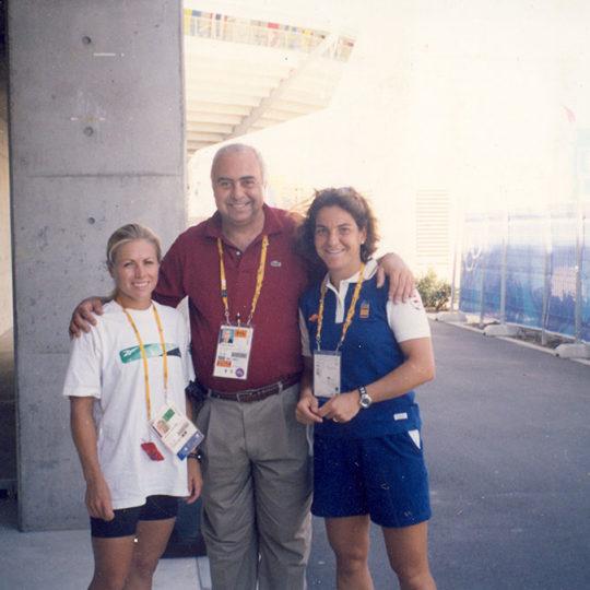 Arantxa Sanchez Vicario (İSP) 4 Grand Slam tekler şampiyonu ve / Amanda Coetzer (G.AFR) 1993 US Open finalisti