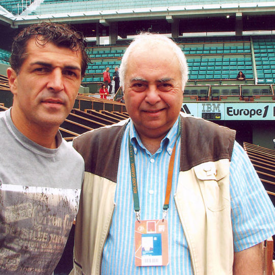 Miguel Angel Nadal (İSP) futbolcu-Barselona, Rafael Nadal'ın amcası ile